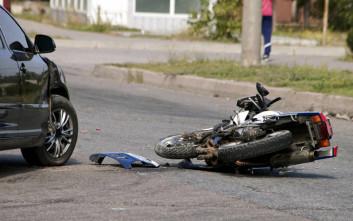 Οδηγός μηχανής ακρωτηριάστηκε σε τροχαίο