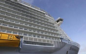 Το μεγαλύτερο κρουαζιερόπλοιο του κόσμου σήκωσε άγκυρες
