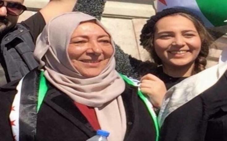 Δις ισόβια για τη δολοφονία Σύριας ακτιβίστριας και της δημοσιογράφου κόρη της
