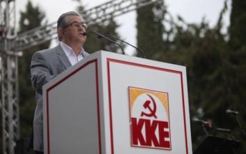 Κουτσούμπας: ΝΑΤΟ και ΕΕ δεν εμπόδισαν την Τουρκία να κρατάει φυλακισμένους δυο Έλληνες στρατιωτικούς