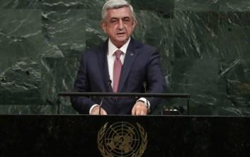 Νέος πρωθυπουργός της Αρμενίας εξελέγη ο Σερζ Σαρκισιάν