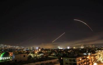 Η Δαμασκός καταγγέλλει «τη βάρβαρη και βάναυση επίθεση» των Δυτικών