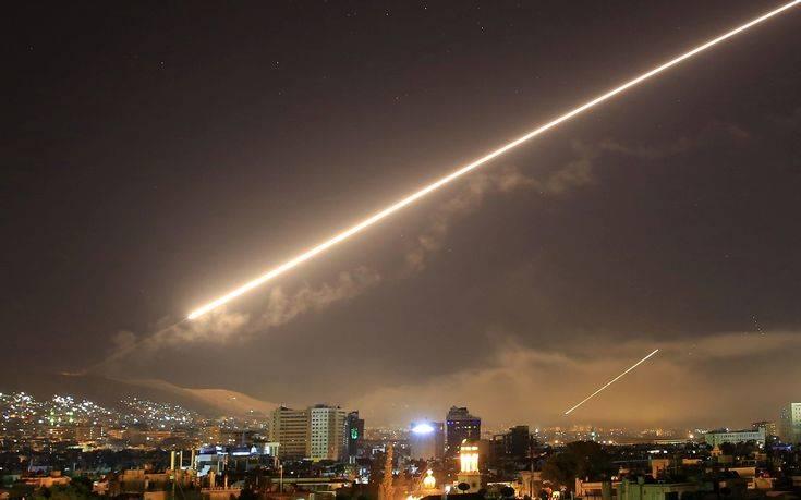 Η συριακή τηλεόραση μεταδίδει νέα επίθεση με πυραύλους