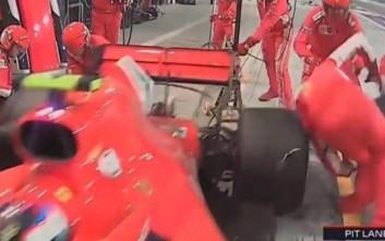 Σοκαριστικό ατύχημα στο pit lane της Ferrari