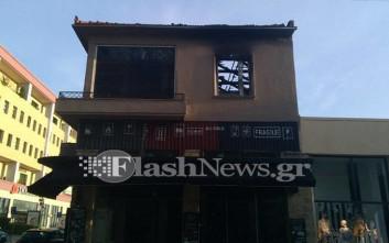 Σε εμπρησμό οφείλεται η πυρκαγιά που κατέστρεψε διαμέρισμα στα Χανιά