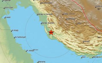 Σεισμός στο νότιο Ιράν κοντά σε πυρηνικό σταθμό