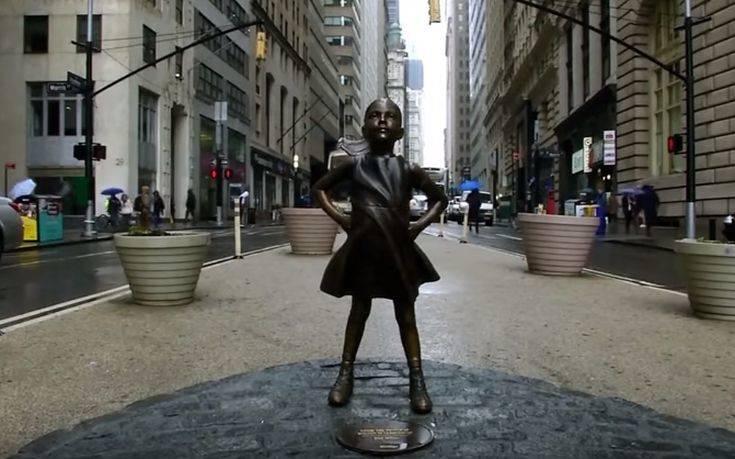 Το «Άφοβο Κορίτσι», μόνιμα απέναντι από την Wall Street