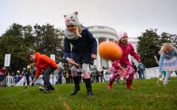 Αρχίζει το κυνήγι των πασχαλινών αυγών στον Λευκό Οίκο