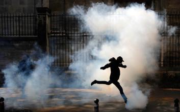 Συγκρούσεις και ταραχές σε πορεία συνδικάτων στο Παρίσι