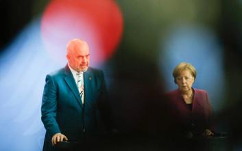 Το μήνυμα της Μέρκελ στην Αλβανία στη συνάντηση με τον Ράμα