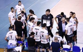 Κυπελλούχος Ελλάδας στο βόλεϊ Ανδρών ο ΠΑΟΚ