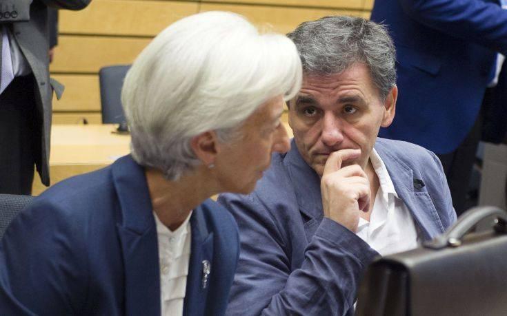 Για χρέος και εφαρμογή των πολιτικών συζήτησαν Τσακαλώτος και Λαγκάρντ