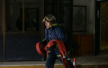 Λήξη συναγερμού για τη φωτιά σε διαμέρισμα στην Πάτρα