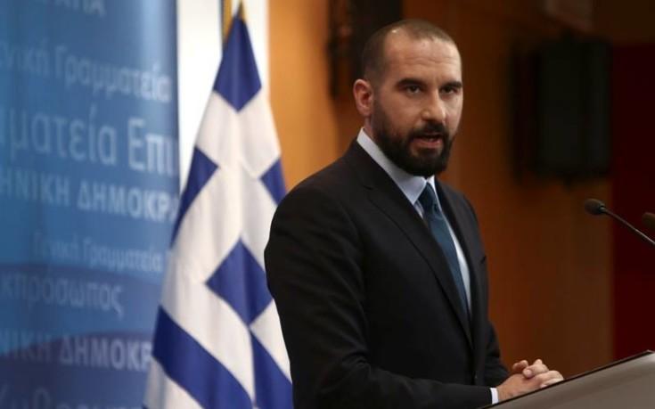 Αισιόδοξος για την έκβαση του Σκοπιανού ο Δημήτρης Τζανακόπουλος