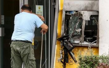 Έκρηξη σε ΑΤΜ σε τράπεζα στην Κηφισιά