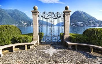 Ειδυλλιακές εικόνες στη μεγαλύτερη ιταλόφωνη πόλη της Ελβετίας
