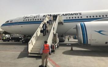 Η Kuwait Airways αναστέλλει όλες τις πτήσεις της προς τη Βηρυτό