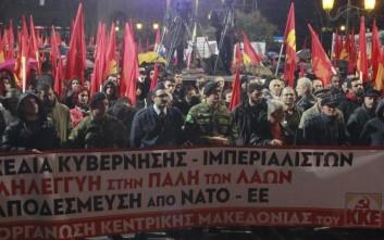 Τιμώρησαν τον φαντάρο που μίλησε σε αντιπολεμικό συλλαλητήριο του ΚΚΕ