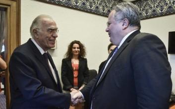 Λεβέντης: Υπάρχει μια κατ' αρχήν συμφωνία με τους Σκοπιανούς