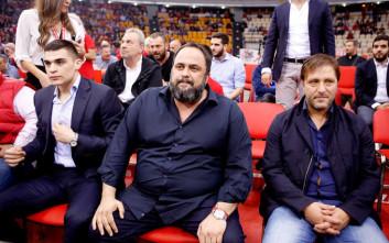 Μαζί με τον Μαρτίνς ο Μαρινάκης στο ΣΕΦ