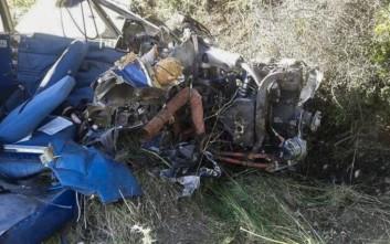 Ποιοι είναι οι δύο νεκροί από τη συντριβή του μονοκινητήριου στη Φωκίδα