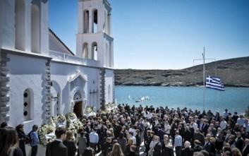 Θρήνος στην κηδεία του 52χρονου επιχειρηματία Αλέξανδρου Σταματιάδη