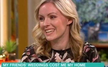 Πήγε καλεσμένη σε τόσους πολλούς γάμους που... φαλίρισε