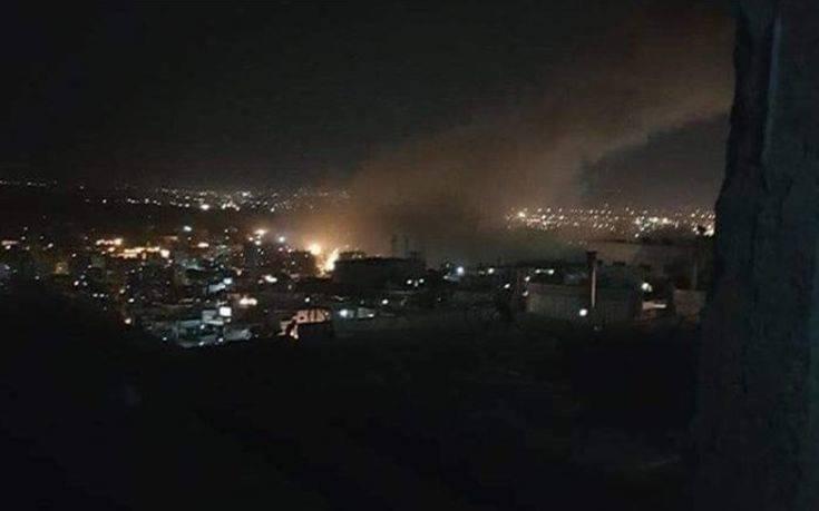 ΗΠΑ, Γαλλία και Βρετανία επιτέθηκαν στη Συρία