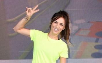 Έτοιμη να λιώσει στη γυμναστική η Ελένη Τσολάκη