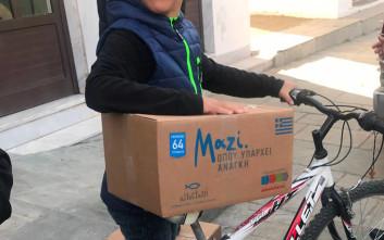Σε οικονομικά ευάλωτες οικογένειες σε Θράκη, Ήπειρο και Στερεά Ελλάδα η «Αποστολή»