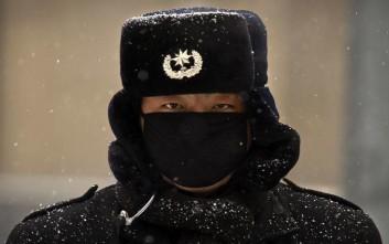 Το Πεκίνο οχυρώνεται για έντονη χιονόπτωση