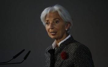 Σήμα κινδύνου από την Κριστίν Λαγκάρντ για την παγκόσμια ανάπτυξη