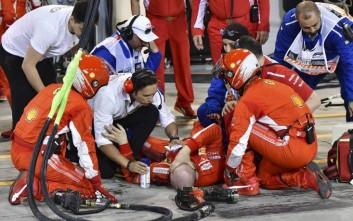 Το μήνυμα του άτυχου μηχανικού της Ferrari από το νοσοκομείο