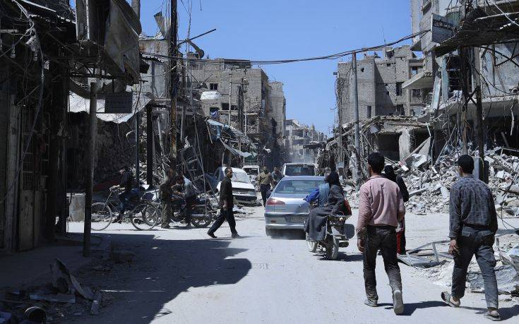Δείγματα από την Ντούμα συνέλεξαν οι επιθεωρητές του ΟΑΧΟ
