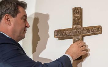 Η κυβέρνηση της Βαυαρίας θέλει να μπουν σταυροί σε κάθε κυβερνητικό κτίριο