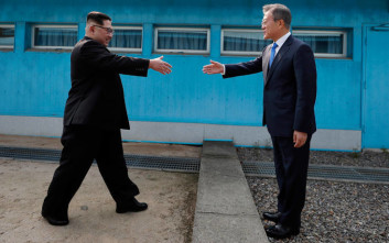 Νότια και η Βόρεια Κορέα εγκαινιάζουν το έργο για την οδική και σιδηροδρομική τους επανασύνδεση