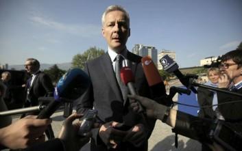 Λεμέρ: Βέβαιοι ότι θα βρούμε μια συμφωνία με την Ελλάδα τον Ιούνιο