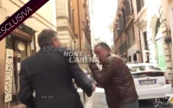 Δημοσιογράφος δέχτηκε χαστούκι την ώρα της συνέντευξης από πρώην υπουργό