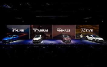 Η Ford αποκαλύπτει το νέο Focus