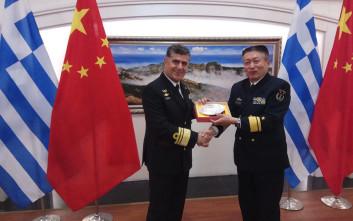 Ολοκληρώθηκε η επίσημη επίσκεψη του αρχηγού ΓΕΝ στην Κίνα