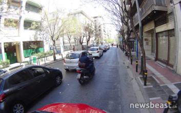 Βγήκαν στους δρόμους οι οδηγοί της Uber