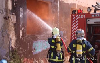 Το πρώην εργοστάσιο λιπασμάτων… παίρνει «φωτιά»