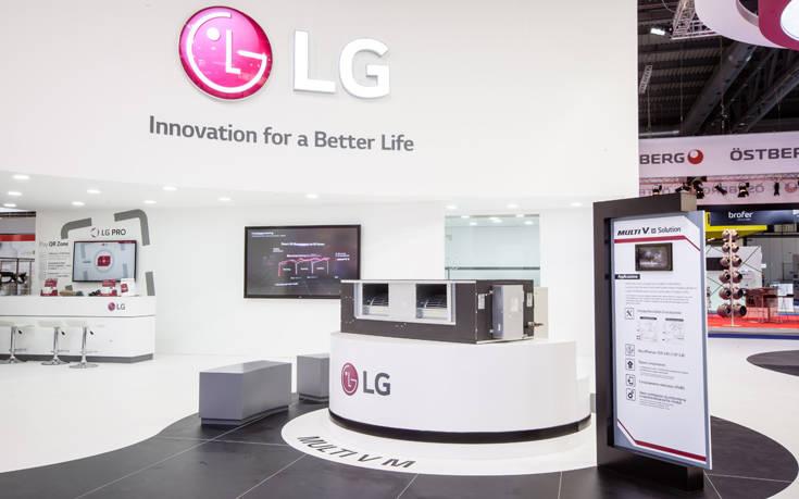 Οι ανανεωμένες HVAC λύσεις της LG βρέθηκαν στο επίκεντρο της έκθεσης MCE 2018