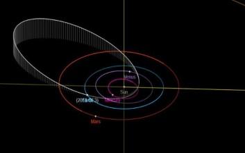 Αστεροειδής σε μέγεθος ποδοσφαιρικού γηπέδου πέρασε ξυστά από τη Γη