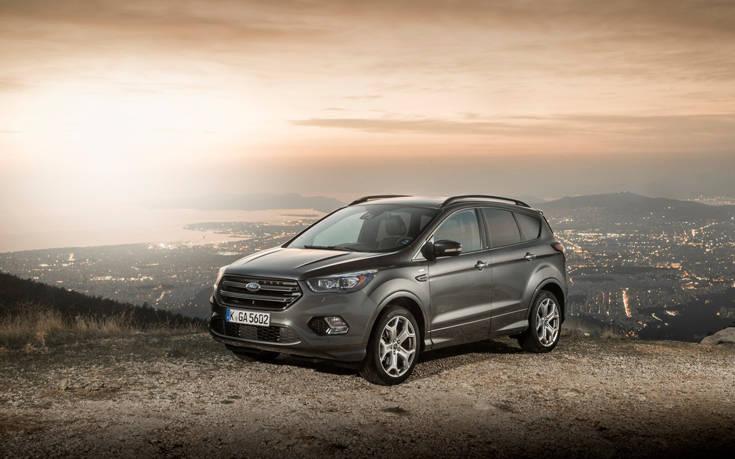 Η Ford πρώτη στα επαγγελματικά σε Ευρώπη και Ελλάδα