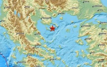 Σεισμός τώρα στην Χαλκιδική