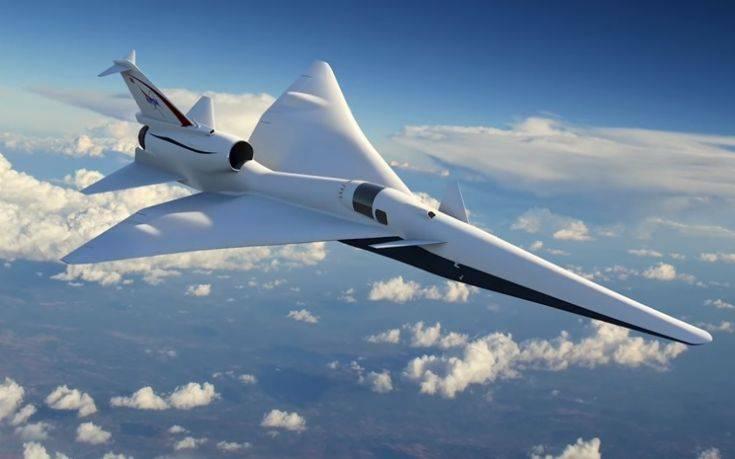 Η NASA φέρνει στο σήμερα το υπερηχητικό επιβατικό αεροσκάφος του μέλλοντος