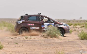 To Renault Zoe στην Σαχάρα