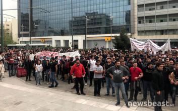 Σε συλλήψεις μετατράπηκαν οι προσαγωγές των δύο διαδηλωτών