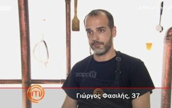 Αποχώρησε ο Γιώργος Φασιλής από το MasterChef